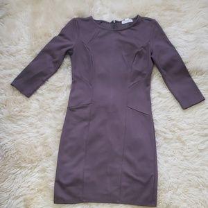 FORVER21 Mauve Bodycon Dress